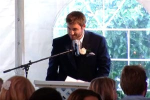 speech, toast, best man - weddingcompass.com