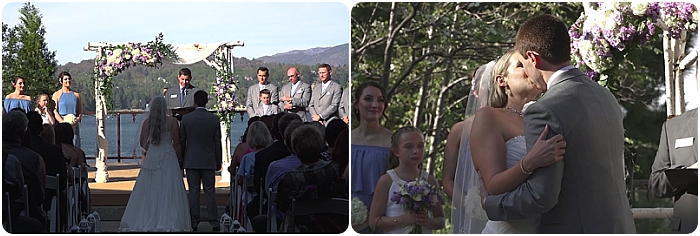 Marie&Nolan_GodFatherFilms - Real Wedding - WeddingCompass.com