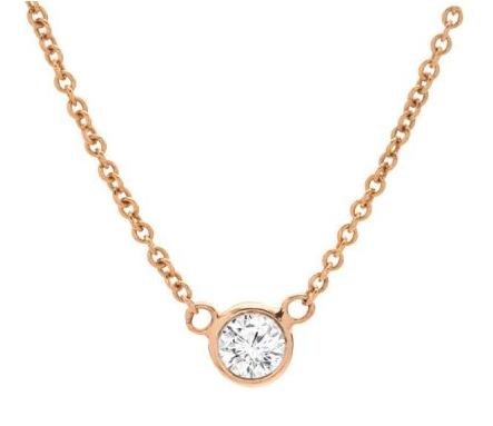 Gold Wedding Pendant - Intercontinental Jewelers - WeddingCompass.com