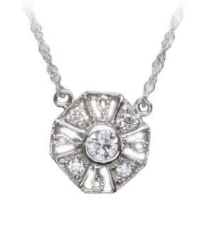 perennial diamond pendant - Intercontinental Jewelers - WeddingCompass.com
