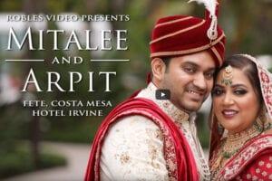 Hotel Irvine - Robles Video - Mitalee & Arpit - Real Wedding - WeddingCompass.com