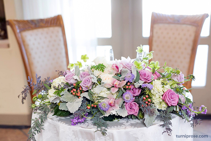 Turnip Rose - Table For Two - Banquet Room - WeddingCompass.com